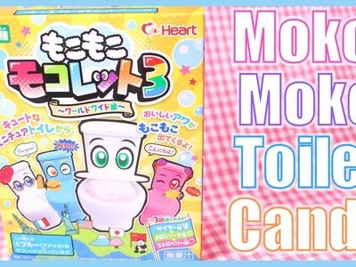 DIY CANDY! Moko Moko Toilet