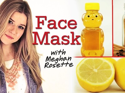 DIY Face Mask with MeghanRosette #17Daily