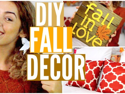 DIY Fall Room Decor! Cheap + Easy!