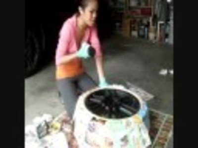 DIY: How to Paint Your Rims