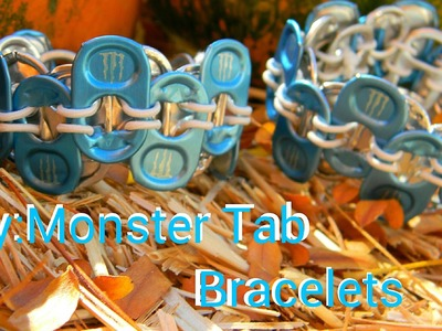 Diy:Monster Tab Bracelets
