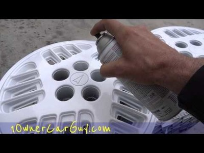 DIY Tips Hubcap. Wheel Cover Fixes Upgrades For Your Car Painting Wheels Hubcaps Cars Video