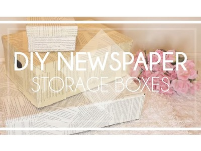 Easy DIY Storage Boxes I Nail Polish storage