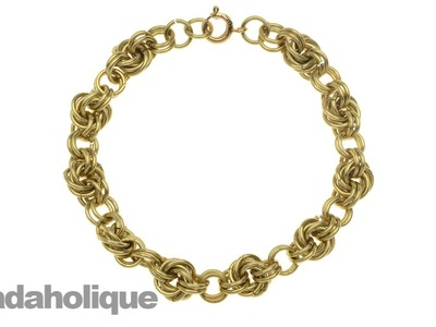 How to Do a Mobius Spiral in Chain Maille