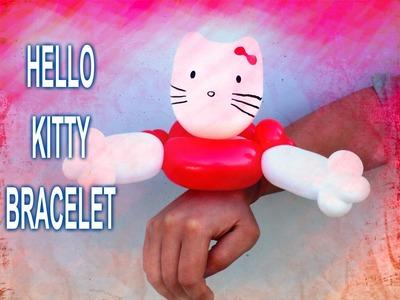 HOW TO HELLO KITTY BALLOON BRACELET - Balloon Animal