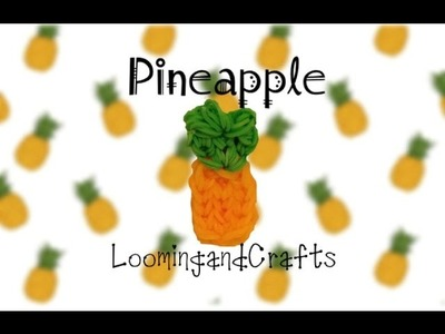 How to Make a Pineapple on the Rainbow Loom | LoomingandCrafts
