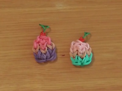 How To Make A Rainbow Loom Cupcake