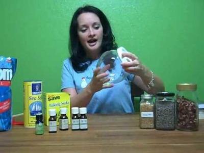 How to make bath salt blends (herbal.oil)