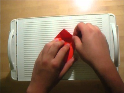 How to make origami paper crane bird
