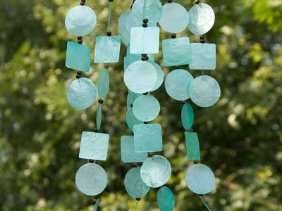 How to make your own DIY wind chimes + ANNOUNCEMENT