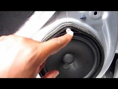 How to remove door panel and install speakers on a 2010 Honda Accord LX Sedan