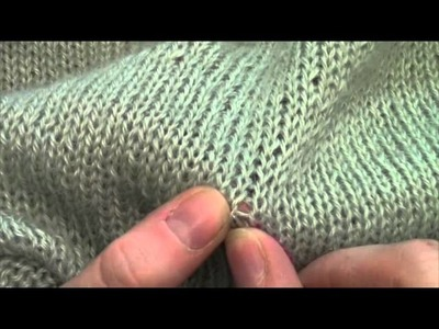 How-To: Weave in Ends with Folio