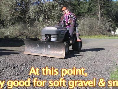 Lawnmower Bulldozer DIY Cheap