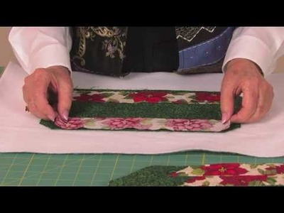 Let's Quilt #16: Holiday Placemats (Part 3)