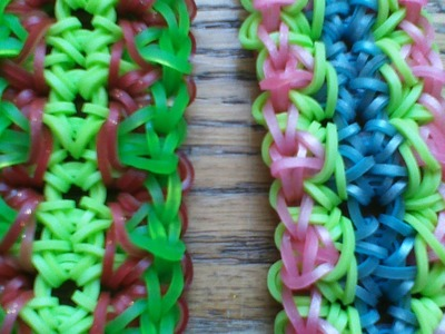 NEW Rainbow Loom Element Burst Bracelet