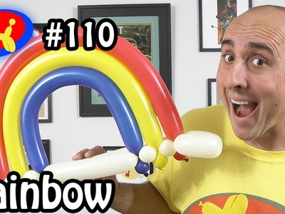 Rainbow  - Balloon Animal Lessons #110