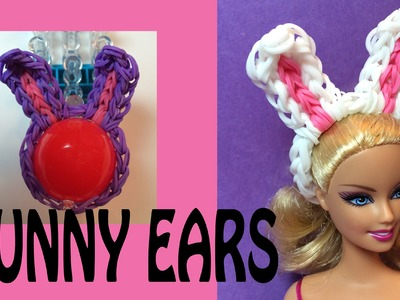 Rainbow Loom Bunny Ears for Halloween Costumes, Eggs and Dolls