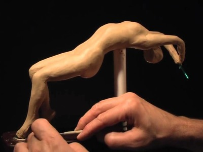 Sculpting a Female Figure - Pose A-3