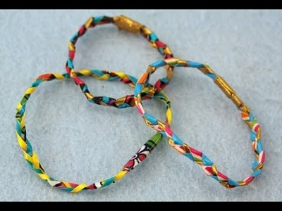 Sophie's World: Braided Duct Tape Friendship Bracelets