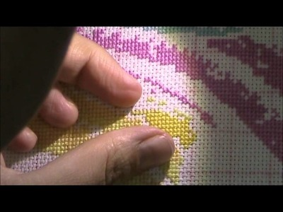 Two Handed Cross Stitching