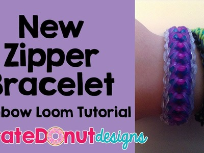 Zipper Bracelet Rainbow Loom Tutorial