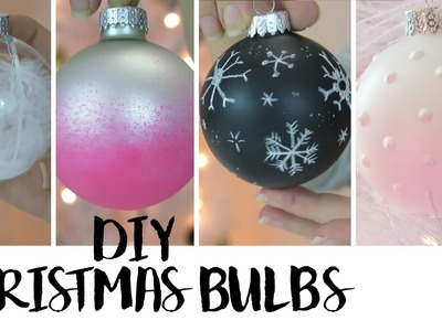 5 DIY Christmas Ornaments 2015 | Carter Sams
