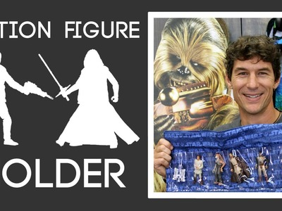 Action Figure Holder:  Easy Sewing Project with Rob Appell of Man Sewing