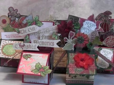 Christmas Card Challenge June 2014 - Card in a Box