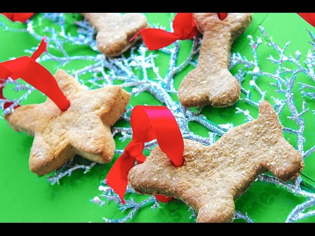 CHRISTMAS GINGERBREAD DOG COOKIES BY MYCUPCAKEADDICTION XMAS FESTIVE TREATS  by Cooking For Dogs