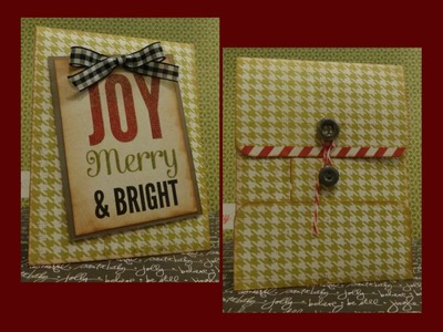 Christmas in July Policy Envelope Gift Holder