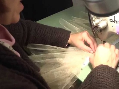 Constructing a Classical Ballet Tutu (Part 4: Sewing Layers to the Panty)