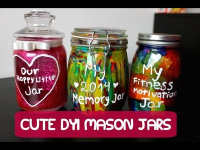 Cute DIY Mason Jar Ideas! | PaulieDahl