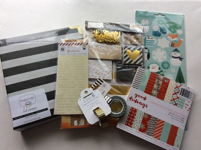 December Daily Christmas Scrapbooking Haul From Scrapbook.com