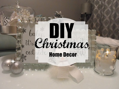 DIY Christmas Home Decor 2015