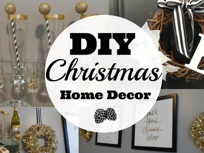 DIY Christmas Home Decor 2015
