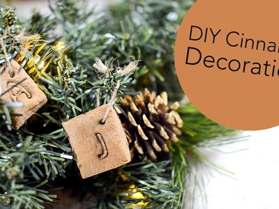 DIY Cinnamon Scented Decorations | ErinRachel