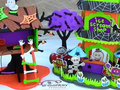 DIY-Create a Spooky Treehouse and Ice Scream Shop!