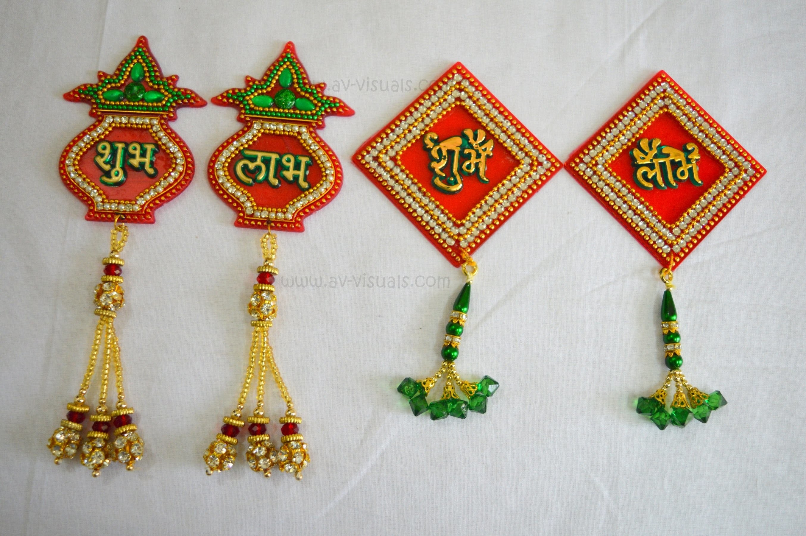 DIY Diwali Shubh Labh Door Hanging | Wall Decor |  Making Tutorial