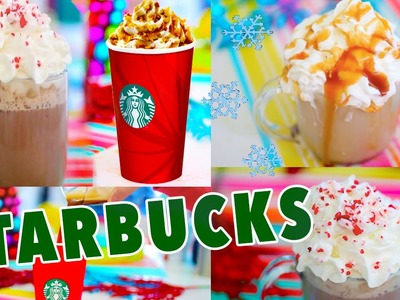 DIY Holiday Starbucks Drinks!