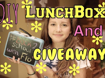 DIY Lunchbox, GIVEAWAY, and COLLAB | fetchinq flo