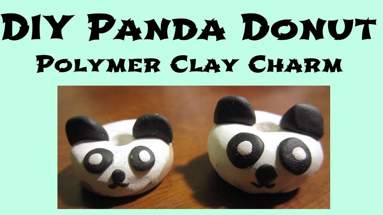 DIY Panda Donut Charm