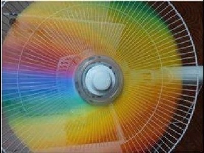 DIY: Rainbow fan   VEDA 12