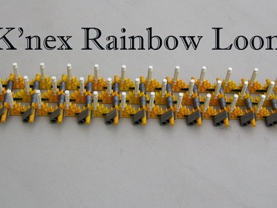 Homemade K'nex Rainbow Loom