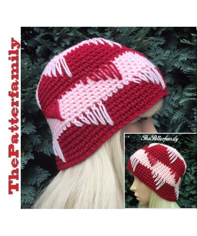How To Crochet a Beanie Hat Pattern #29│by ThePatterfamily