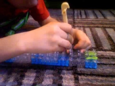 How to make a rainbow loom house