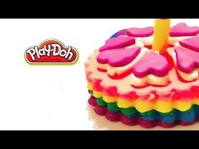 Play Doh Rainbow Cupcake - Super Rainbow Ice Cream Easy by BIG BROTHER Kids