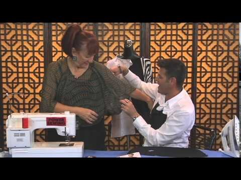 Power Sewing WebTV Preview Episode 119: The Butterfly Blouse (Vogue 1291)