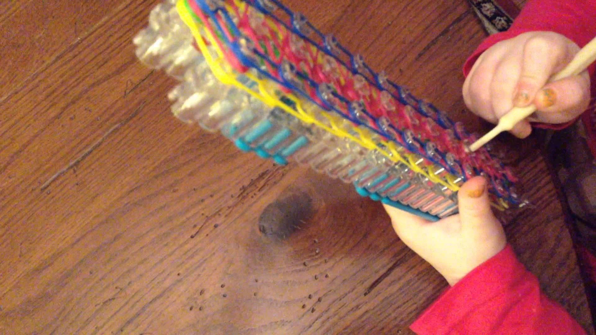 Rainbow Loom Hot Dog Bracelet