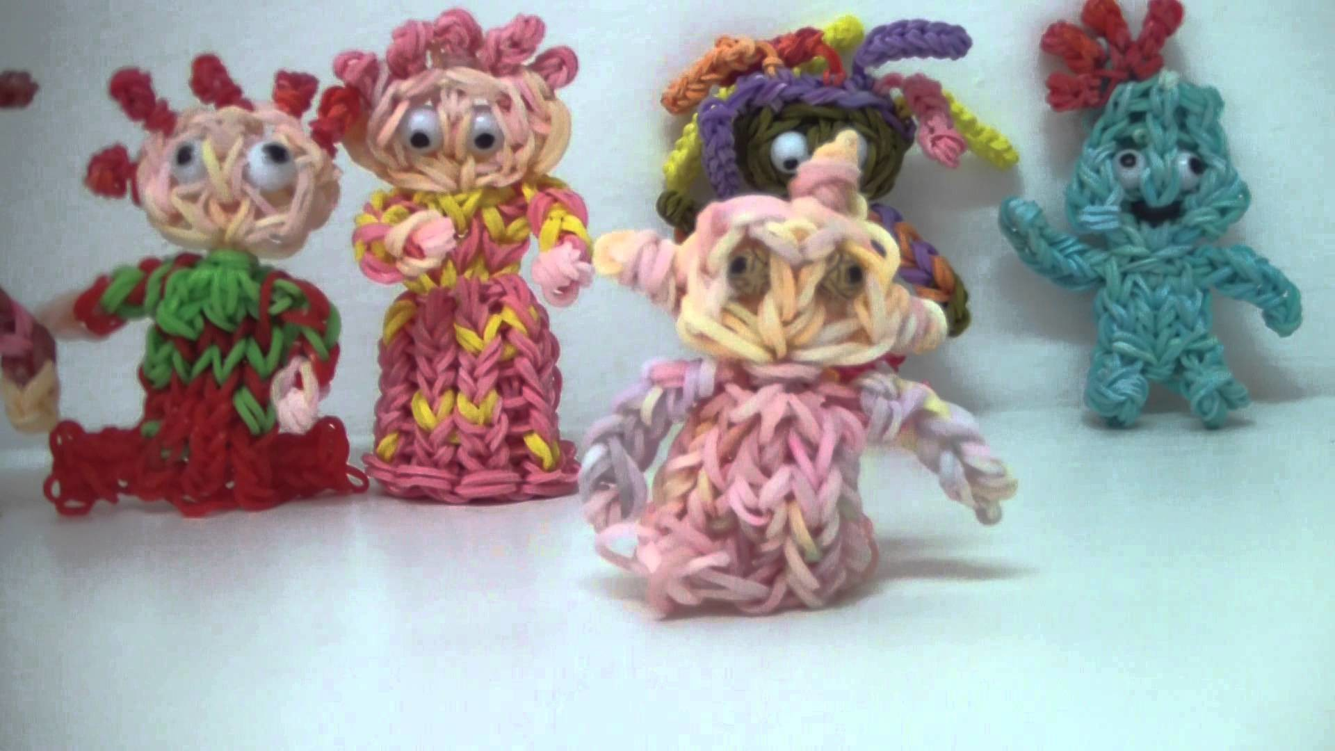 RAINBOW LOOM - IN THE NIGHT GARDEN FIGURES (3)