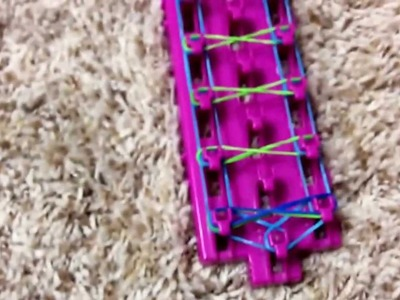 Rainbow loom Taffy Twist